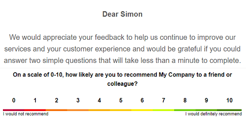 Great value Net Promoter Score software from SightMill helps you gather, analyze and act on customer feedback