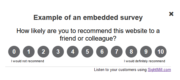embedding_a_survey_in_a_web_page
